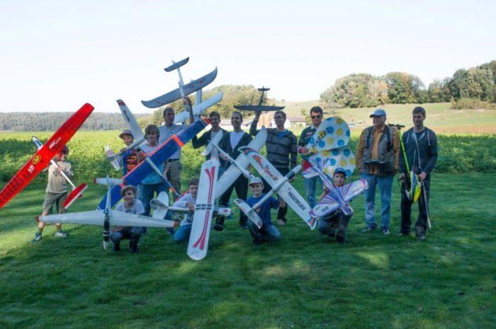 Ferienplausch bei der Modellfluggruppe Flaachtal