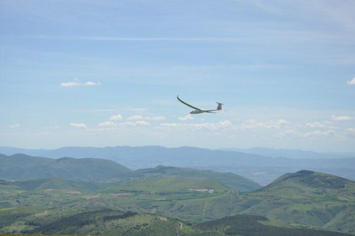 Segelfliegen in der Toskana